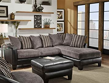 2-Pc Oliver Sectional Set