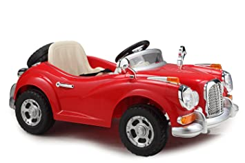 ride on cars bluday vintage battery operated ride on car for kids to drive
