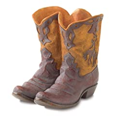 Gifts & Decor Western Theme Garden Decor Cowboy Boot Planter Outdoor