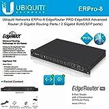 EdgeRouter PRO ERPro-8 Router 8-Port Gigabit Connectivity