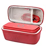 BOVKE for DOSS SoundBox Touch Wireless Bluetooth V4.0 Portable Speaker Protective Hard EVA Travel Shockproof Carrying Case Cover Storage Pouch Bag, Red (Color: Red)