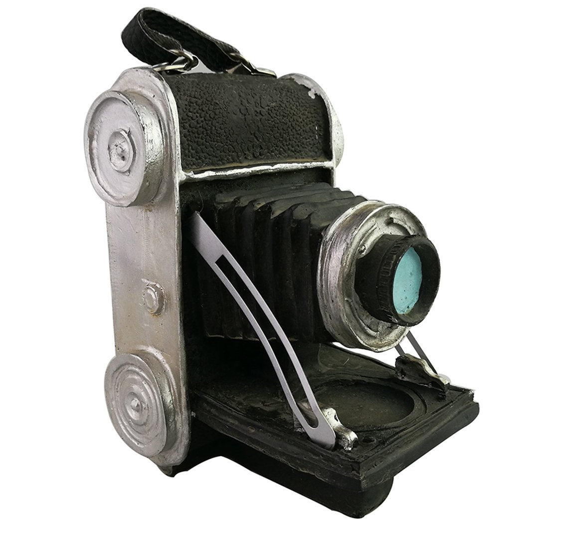 Creative Retro Vintage Old Fashion Resin Camera Model Resemblance Ornament for Home Bar Decoration 0