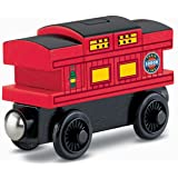 Thomas & Friends Fisher-Price Wooden Railway, Musical Caboose - Battery Operated