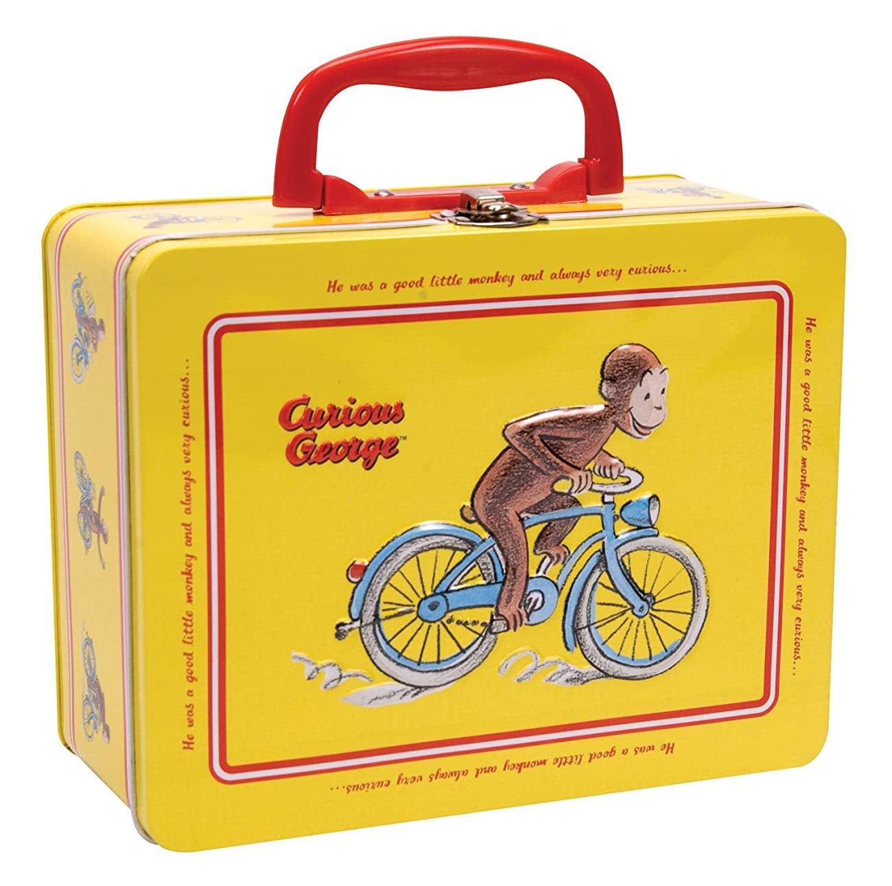 Curious George Tin Keepsake Box with Latch by Schylling 0