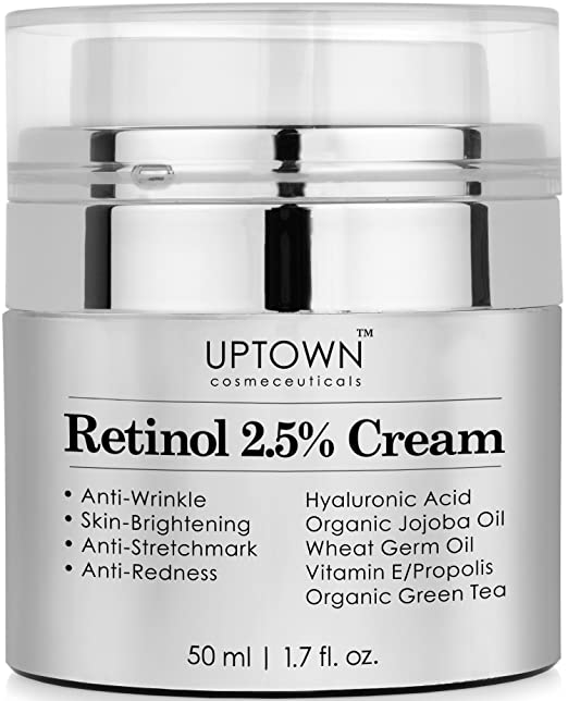 Face and Eye Area will Truly Nourish Your Skin, Potent Anti Aging Formula Reduces Wrinkles, Stretch Marks & Redness, Perfect Night Cream, 50ml