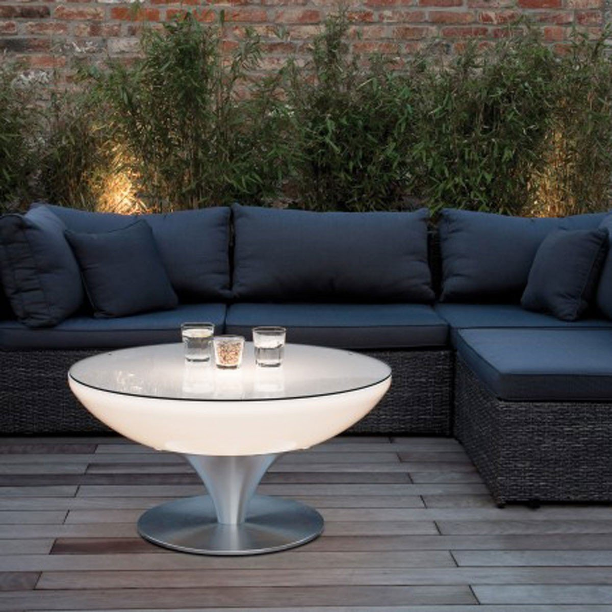 Couchtisch Lounge Größe: 45 cm H x 84 cm Ø jetzt bestellen