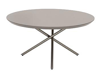 Living Moments 2181301501 Coffee tavolino da salotto, 35 x 70 cm, Pietra grigio chiaro