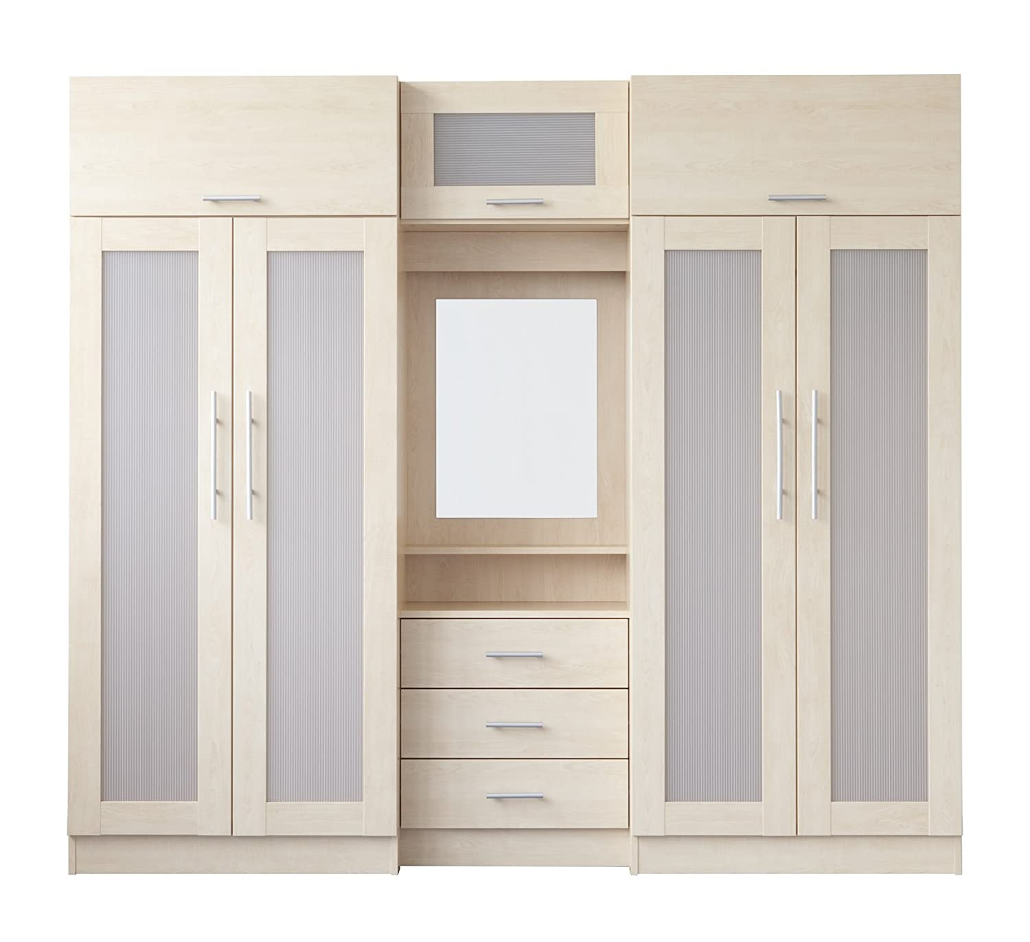amazon co uk melbourne bedroom furniture in maple large melbourne  title=