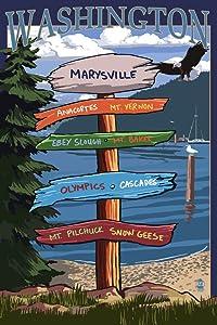 Marysville Washington Poster
