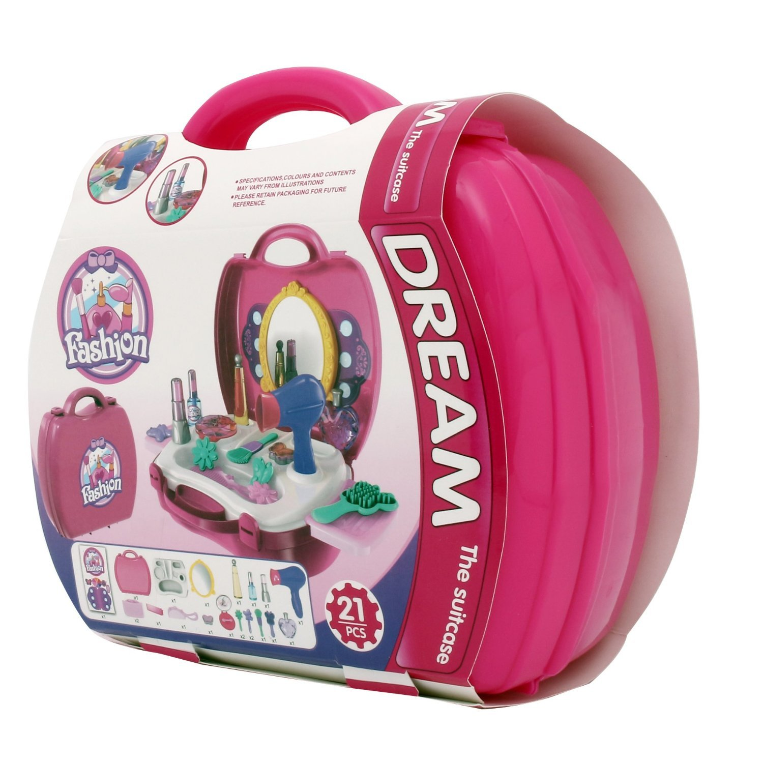 Ilovebaby Makeup Set Children Pretend Play Make