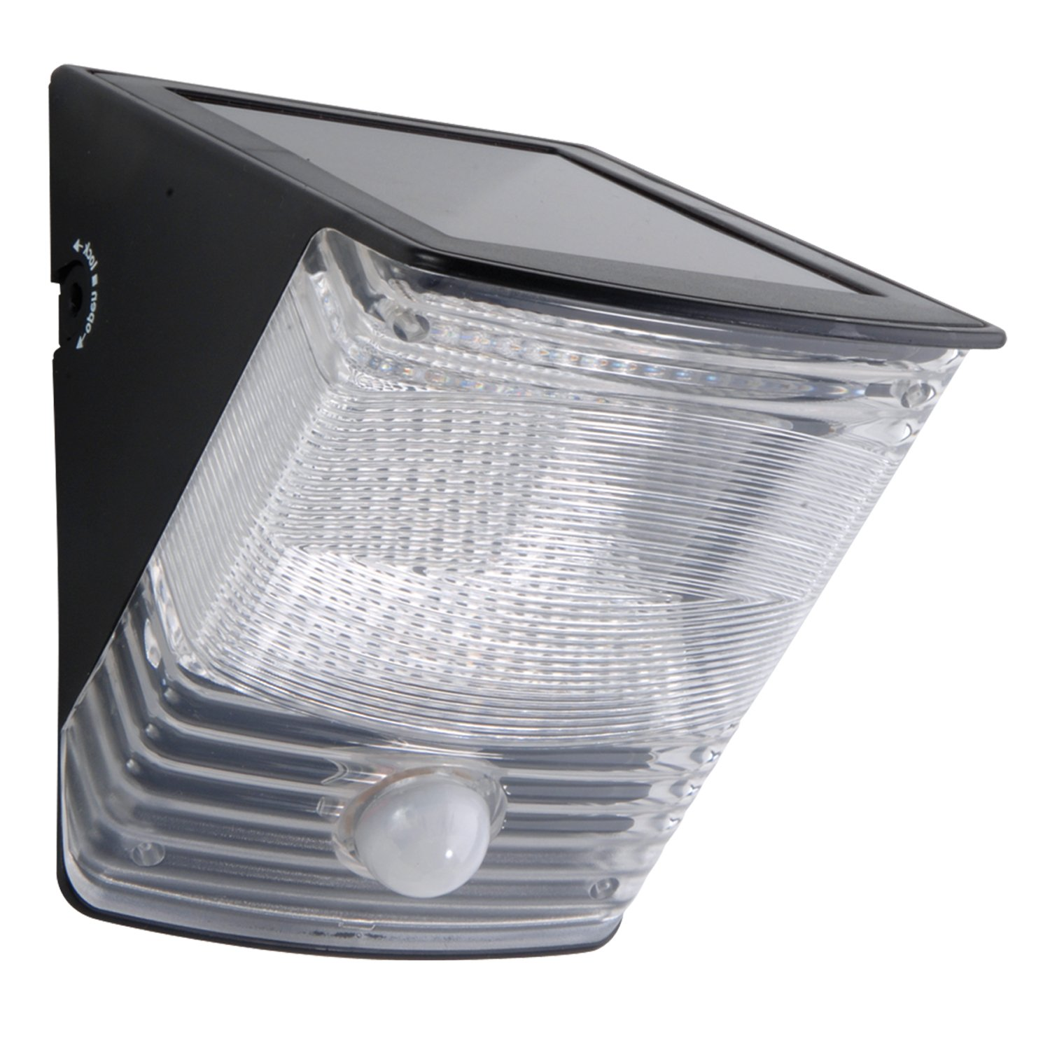 Solar outdoor motion sensor light