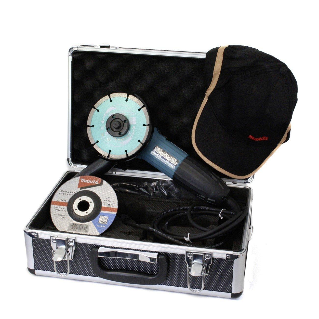 Makita GA5030KSP1 Winkelschleifer im Koffer inkl. Zubehör  BaumarktKritiken und weitere Informationen