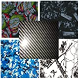 Hydro Dip Film Hydrographic Film Water Transfer Printing Hydro Dipping Variety #4 5 Pack Film 19