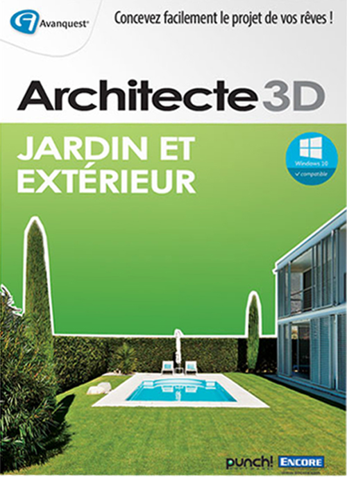 Telecharger jardin 3d for Architecte 3d v18