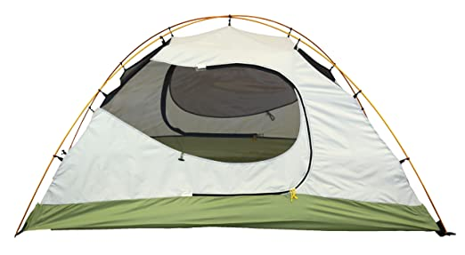 Ledge Sports Scorpion 2 Person Light Weight Aluminum Pole Backpacking Tent, Green, 95 x 58-Inch