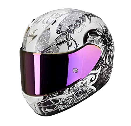 Scorpion eXO - 410 casque intégral-perlweiss oRCHID