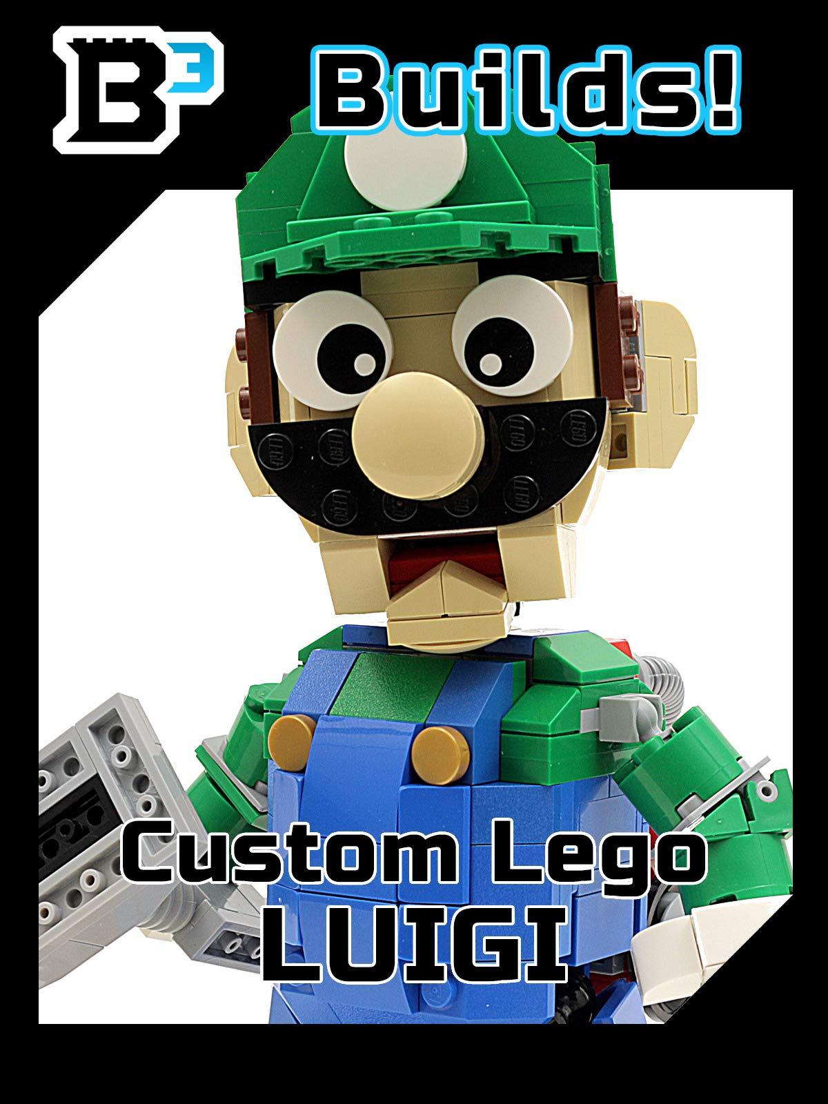 B3 Builds! Custom LEGO Luigi Figure