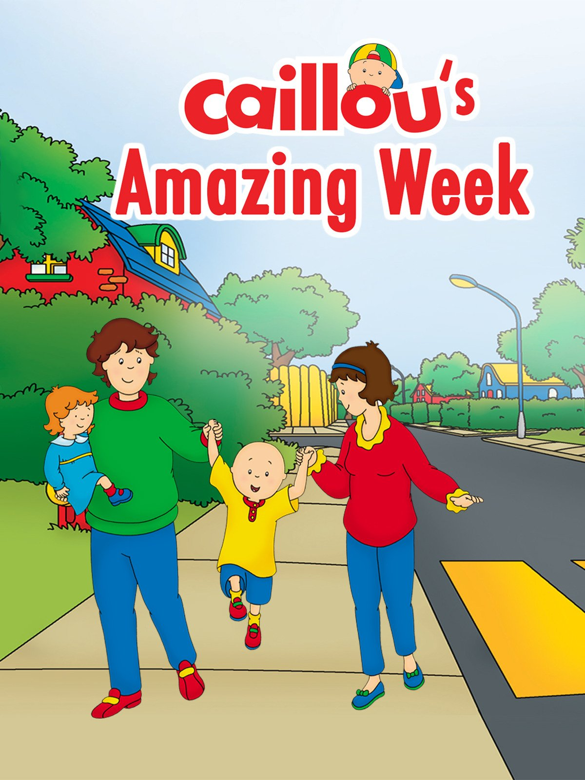 Caillou's Amazing Week