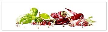 mySPOTTI  2510973 profix Herbs and Spice, Kuchenruckwand, 220 x 60 cm