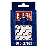 Bicycle Dice 10 Pack (Tamaño: 10Count)