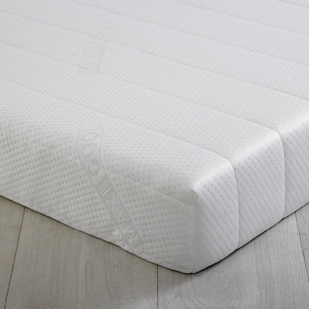 Foam 2 Go®   3FT Single 15cm (6 )   Deluxe MaxiCool Zoned Memory Foam Mattress   90cm x 190cm x 15cm   Including FREE Luxurious Soft Quilted Cover       reviews and more information