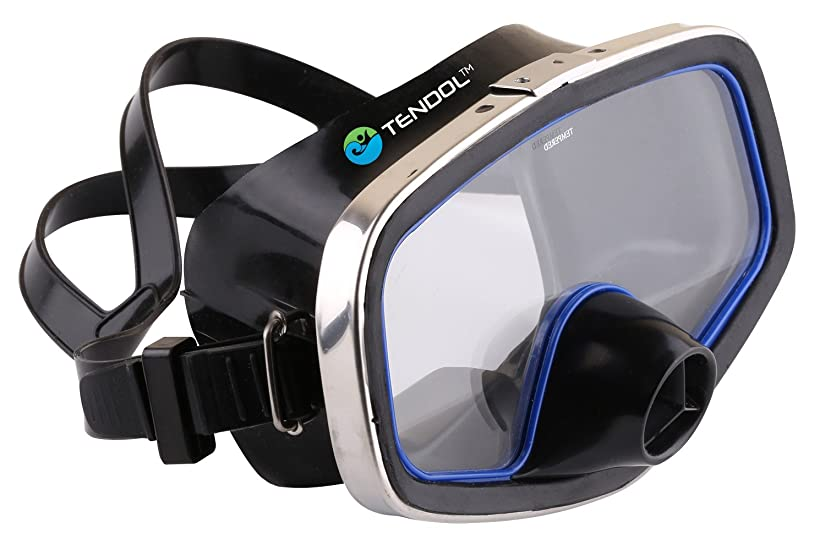 Tendol Scuba Diving Mask/Diving Mask Purge Valve/ Silicone Skirt/Metal Frame review