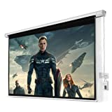 "100"" 16:9 HD Foldable Electric Motorized Projector Screen + Remote Only by eight24hours (Color: As the picture shows, Tamaño: Viewing Area (WxH) : 87"