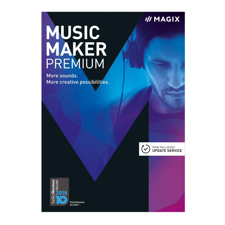 MAGIX Music Maker 2017 Premium [Download]