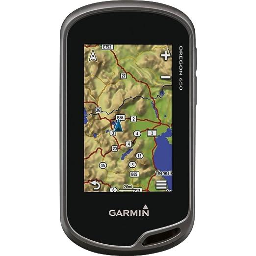 Garmin Oregon 650 Handheld GPS Navigator