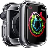 Penom Case for Apple Watch Screen Protector Series 3 2 1 42mm, Ultra Thin Clear iWatch 42mm Screen Protector with Full Protection TPU Cover (Color: Clear, Tamaño: Series 3 2 1 42mm)