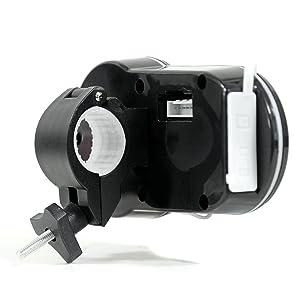 "GoldenHawk 3"" Waterproof Bluetooth Wireless Motorcycle Stereo Speakers 7/8 - 1.25 in. Handlebar Mount MP3 Music Player Sound Audio System Scooter ATV UTV w/ USB Charging, SD Card, FM Radio, Amplifier"