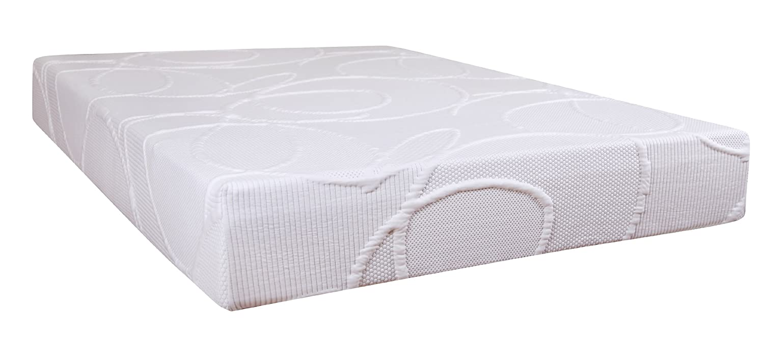 Polar 10-inch Memory Foam Mattress in Twin, Twin XL, Full, Queen, King Sizes hot sale sleep well pocket spring latex memory mattress king queen twin best price mattress for sweet home quality product q05