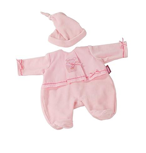 Pyjama Götz rose - pour poupées de 42-46 cm