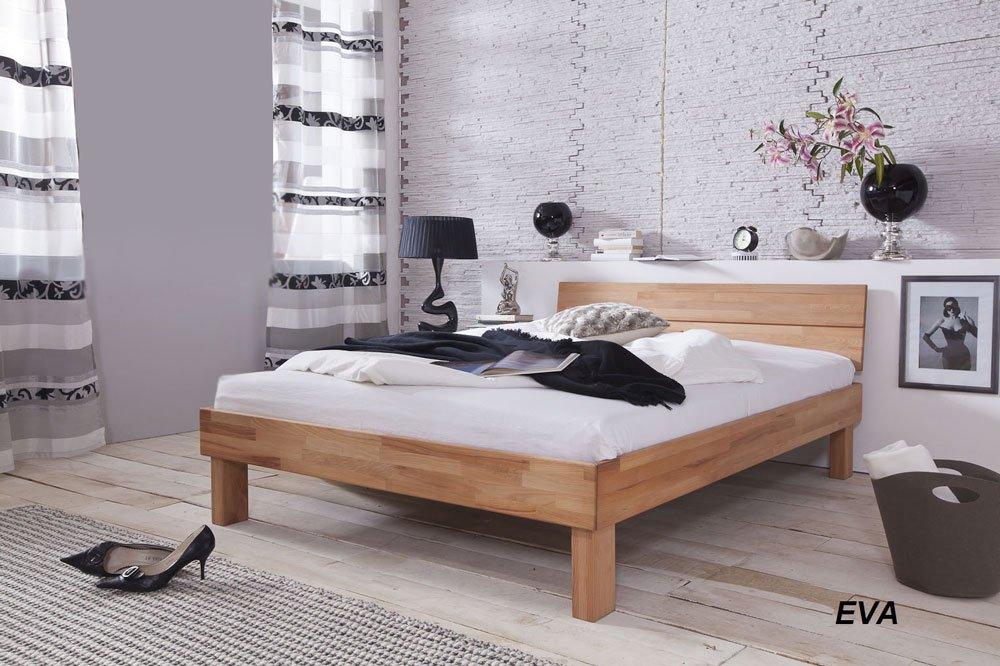 XXS® Möbel Doppelbett Eva 160 x 200 cm Kernbuche Massiv Holz Bett Lager Paketdienst  Bewertungen
