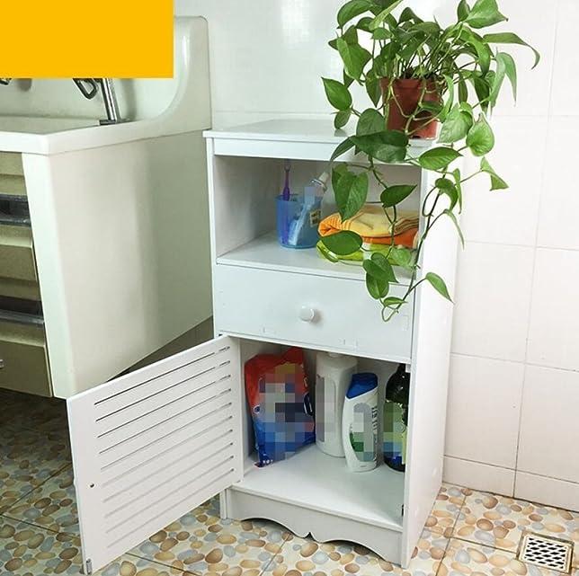GY&H Arredo bagno Gabinetto Armadi da casa Armadi a pavimento Contenitori impermeabili per vasche da bagno,B