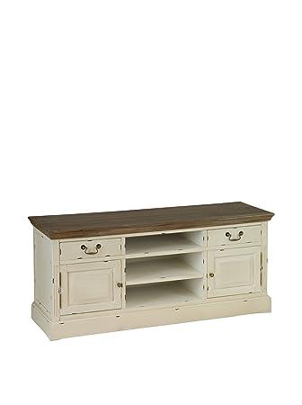 Colonial Style Mueble Para Tv Lauren Beige/Marrón
