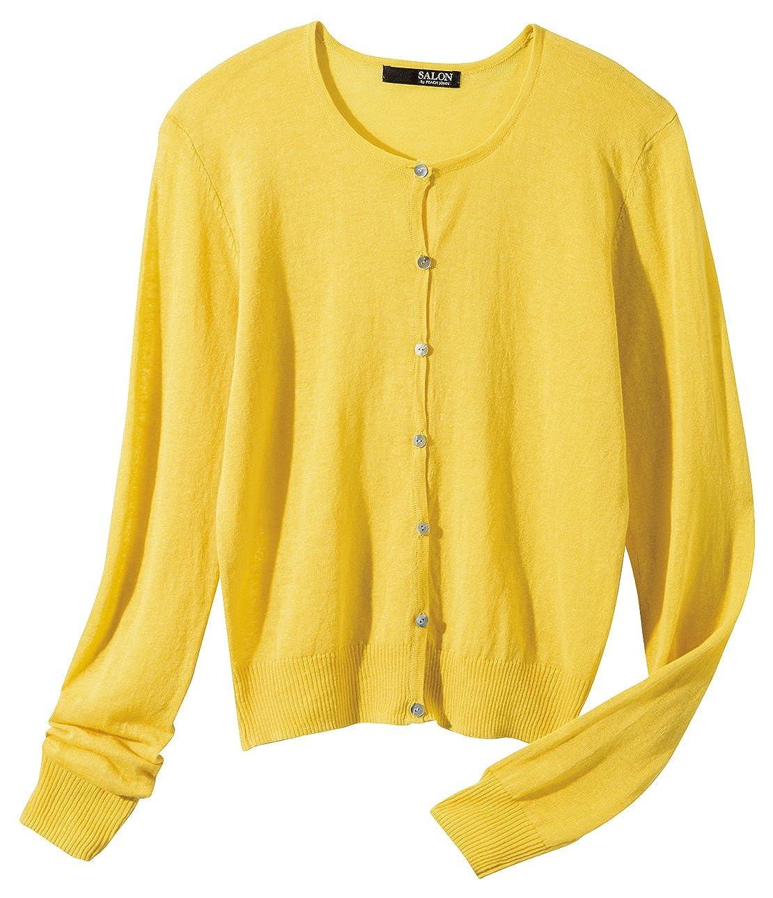 Amazon.co.jp: (ピーチ・ジョン)PEACH JOHN フランダースリネンカーデ: 服&ファッション小物通販