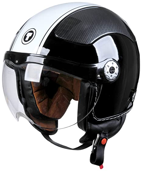 Torc Route 66 T50 3 Snap Replacement Bubble Shield Dark Smoke Tint