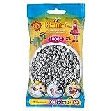 Hama Beads - Grey (1000 Midi Beads) (Color: Grey - 17)