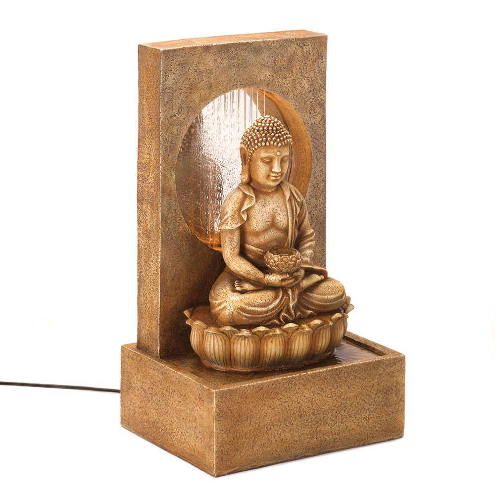 Buddha fountains archives fountain decorations for home for Buddha decorations for the home