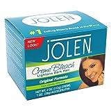 Jolen 4 Ounce Creme Bleach Regular Lightens Excess Dark Hair (118ml) (Tamaño: 4 Ounces)