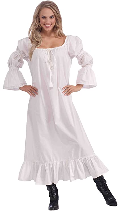 Women's White Medieval Chemise Costume by Forum Novelties