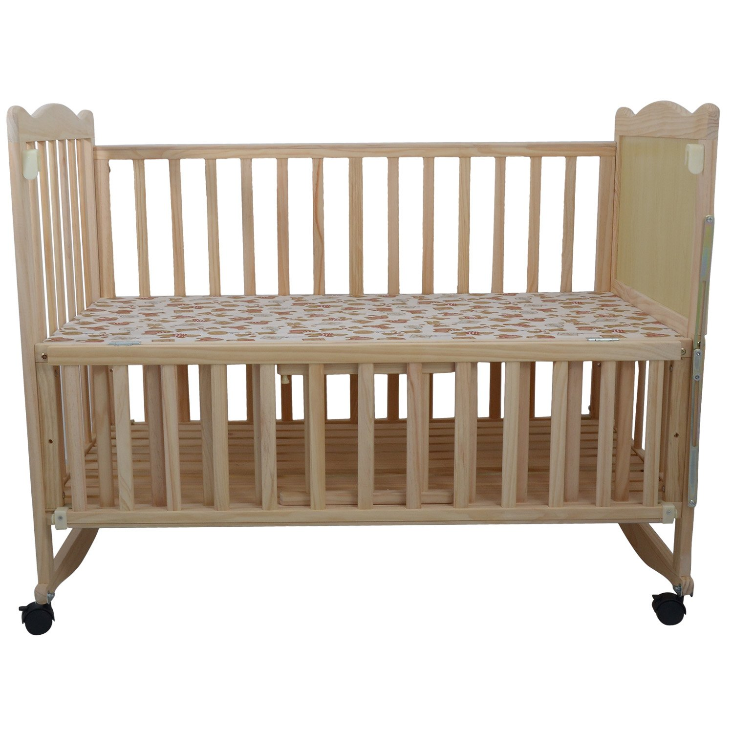 Crib for babies online india - Buy Just Born Baby Cozy Wooden Cot Online At Low Prices In India Amazon In