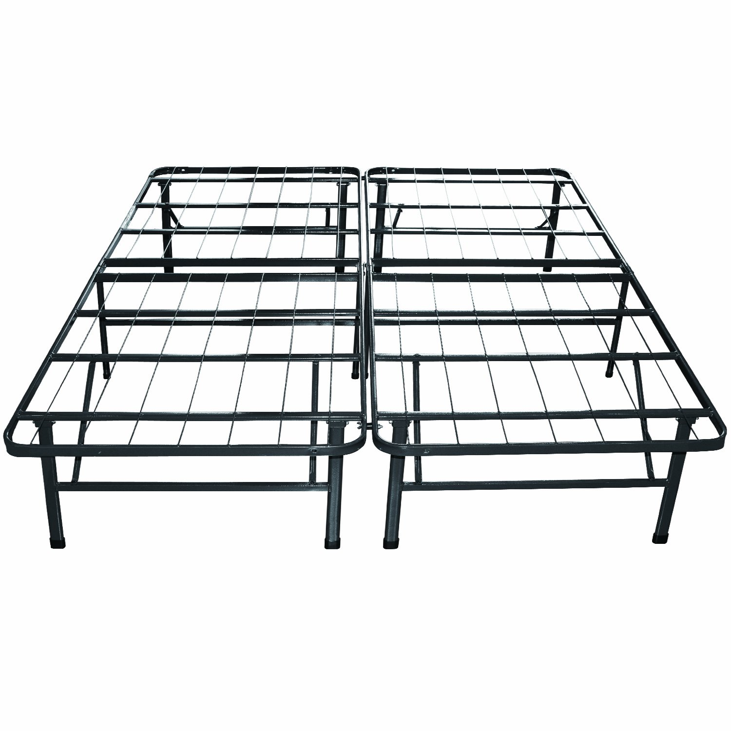 king sleep master platform metal bed frame mattress foundation free shipping ebay. Black Bedroom Furniture Sets. Home Design Ideas