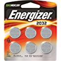 6-Pack Energizer 3 Volt Lithium Watch Batteries