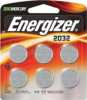 6-Pack Energizer 3 Volt Lithium Watch Batteries