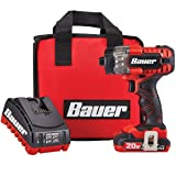 Bauer 20V Hypermax Lithium 1/4 in. Hex Compact Impact Driver Kit