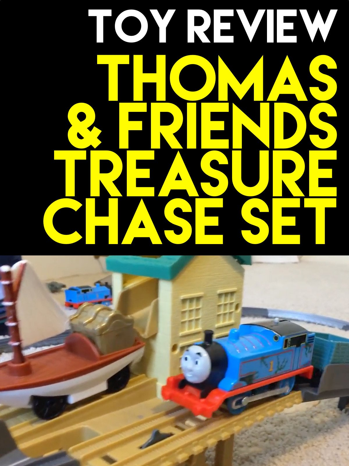 Clip: Thomas and Friends Treasure Chase Set Review