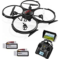 DBPOWER U818A Updated WiFi FPV Quadcopter RC Drone with 2MP HD Camera