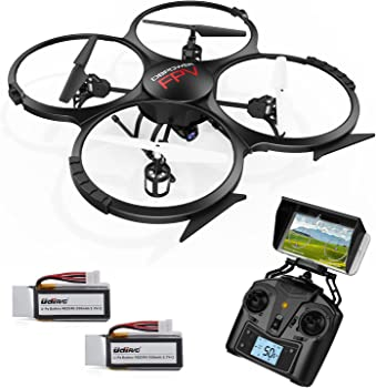 DBPOWER U818A Updated WiFi FPV Quadcopter RC Drone